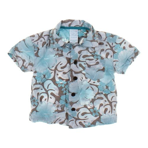 WonderKids Tropical Button-Up Shirt in size 12 mo at up to 95% Off - Swap.com
