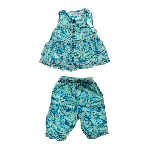 Basic Editions Tropical Outfit in size 6 mo at up to 95% Off - Swap.com