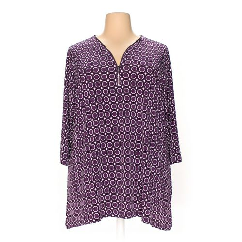 CJ Banks Tunic in size 1X at up to 95% Off - Swap.com