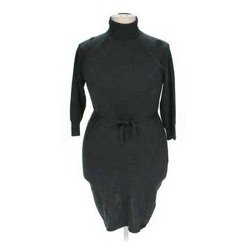 Turtle Neck Sweater Belted Dress for Sale on Swap.com