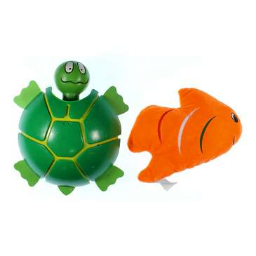 Turtle & Plush Fish Set for Sale on Swap.com