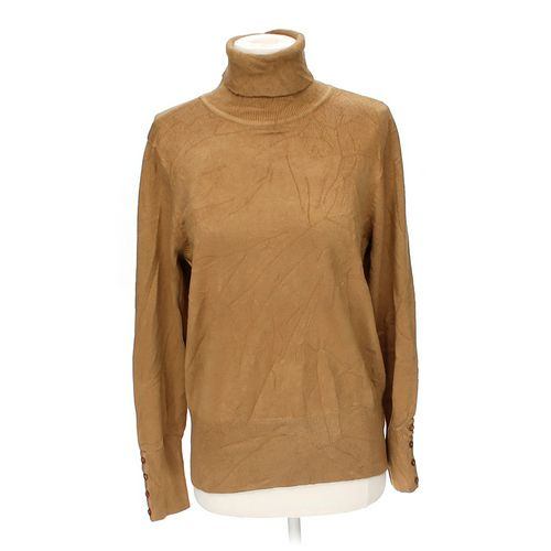 JM Collections Woman Turtleneck Sweater in size M at up to 95% Off - Swap.com