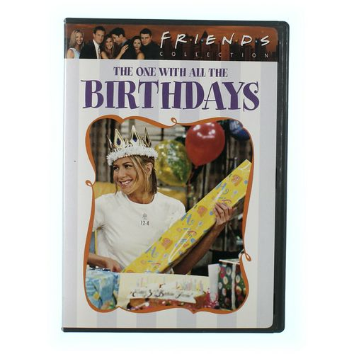 TV-series: Friends Collection: The One With All The Birthdays at up to 95% Off - Swap.com