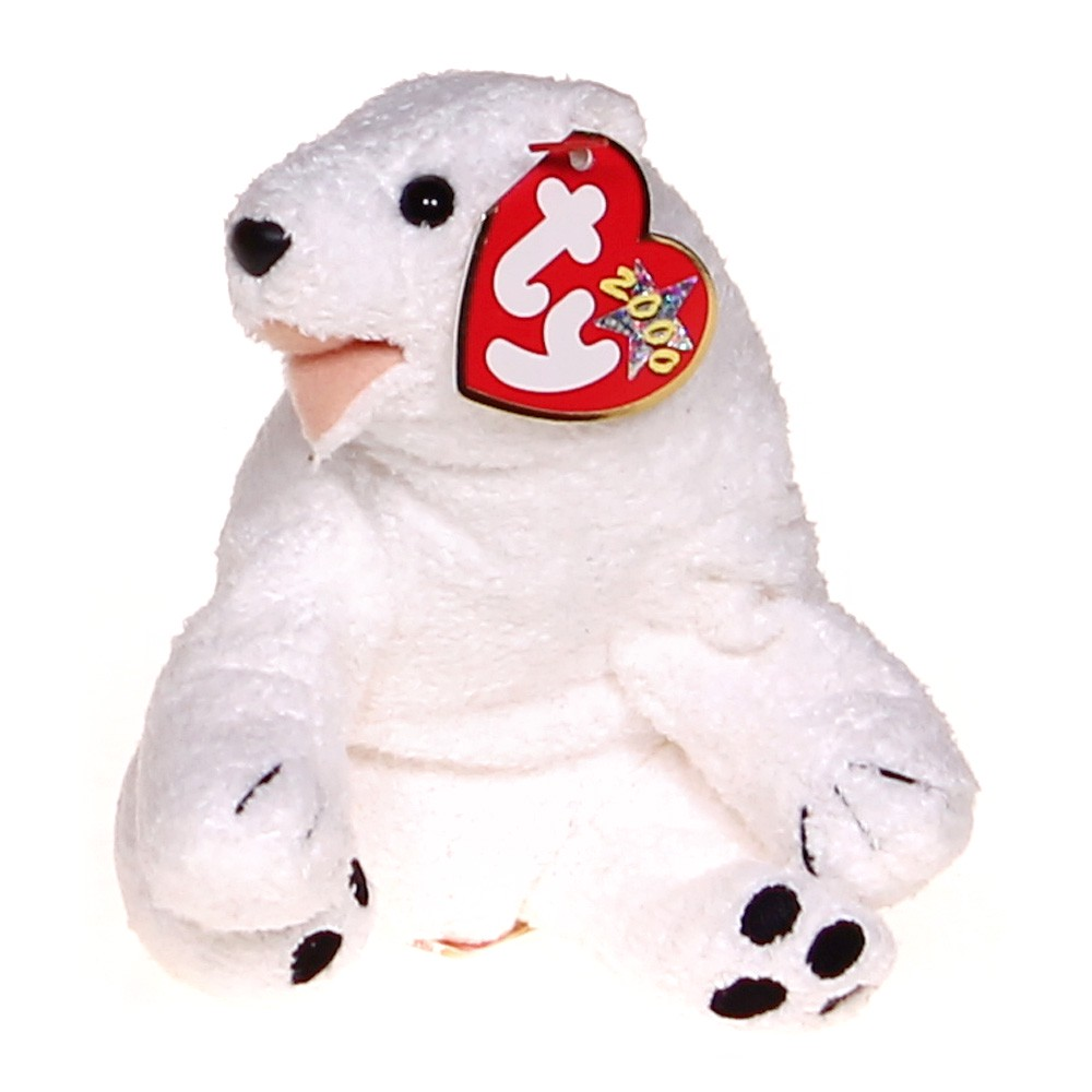 Ty Ty Beanie Babies Aurora - Polar Bear at up to 95% Off - Swap ad4501c95bd