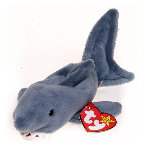 Ty Ty Beanie Babies Crunch Shark at up to 95% Off - Swap.com