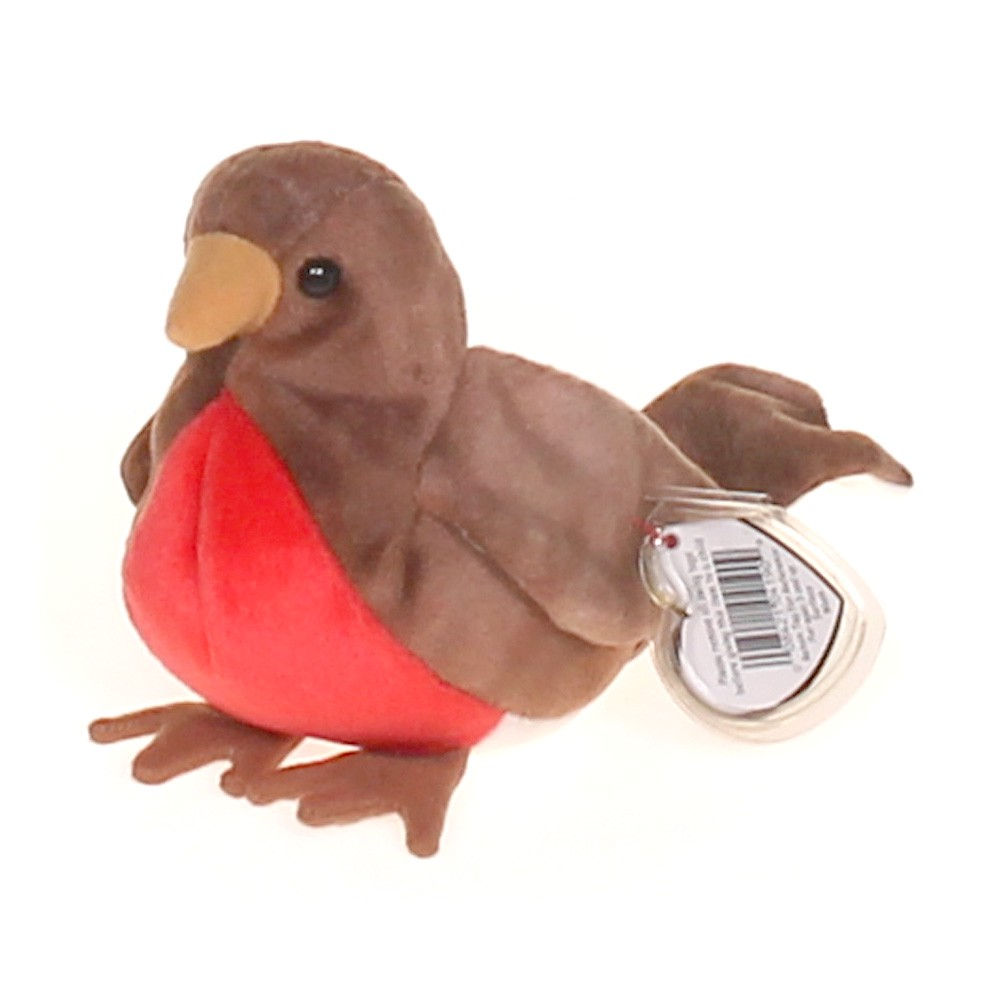 3dab6c61007 Ty Ty Beanie Babies Early the Robin at up to 95% Off - Swap.