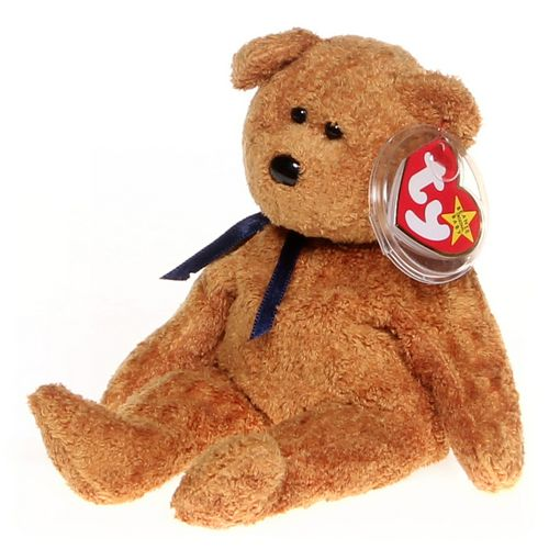 Brown Ty Ty Beanie Babies - Fuzz the Bear in size at up to 95% Off ... bf34dc2642f