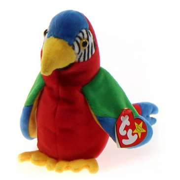 Ty Beanie Babies Jabber - Parrot for Sale on Swap.com