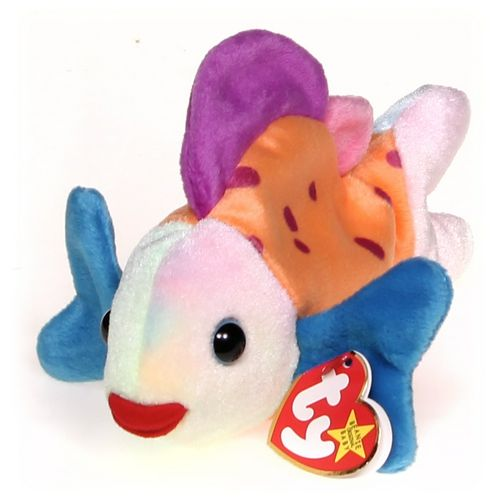 Ty Ty Beanie Babies Lips Fish at up to 95% Off - Swap.com