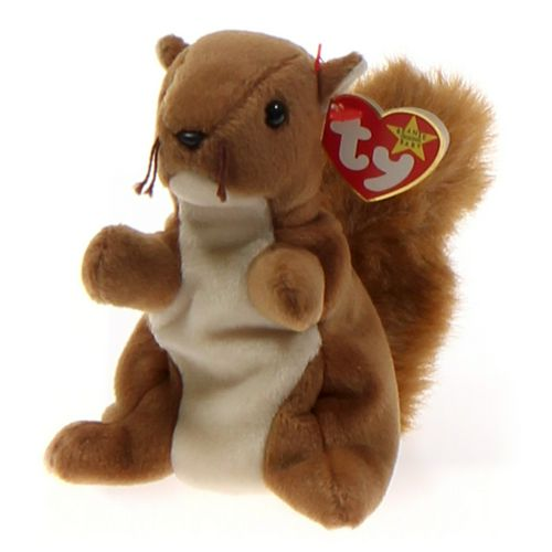 Ty Ty Beanie Babies Nuts - Squirrel at up to 95% Off - Swap.com