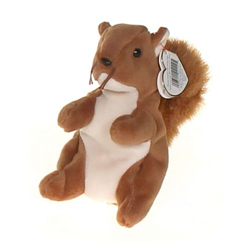Ty Ty Beanie Babies - Nuts the Squirrel at up to 95% Off - Swap.com