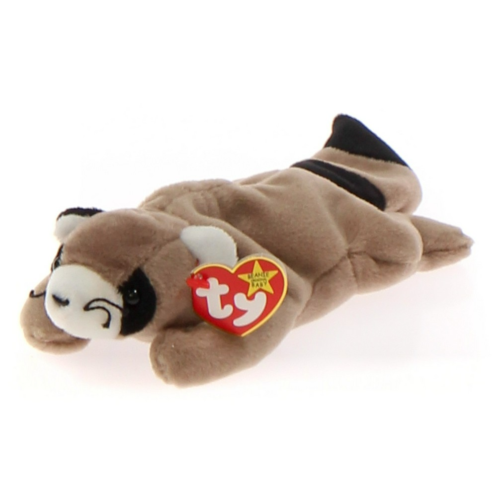 3d4ce08b9f5 Ty Ty Beanie Babies - Ringo the Racoon at up to 95% Off - Swap
