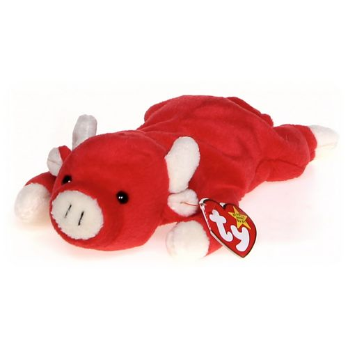 Ty Ty Beanie Babies Snort - Bull at up to 95% Off - Swap.com