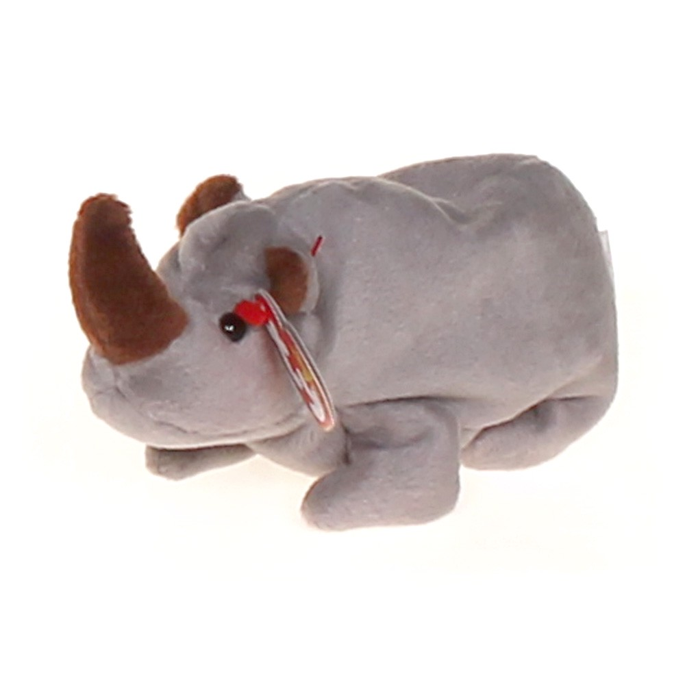 6c846703c77 Ty Ty Beanie Babies - Spike the Rhinoceros at up to 95% Off - Swap