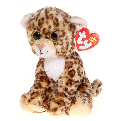"""Ty Ty Beanie Babies- """" Spotty"""" the Leopard at up to 95% Off - Swap.com"""