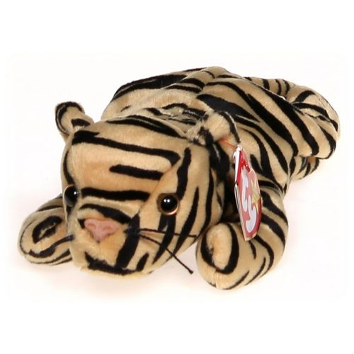 Ty Ty Beanie Babies Stripes Tiger at up to 95% Off - Swap.com