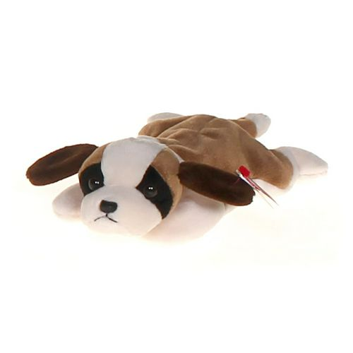 Ty TY Beanie Baby - BERNIE the St. Bernard Dog at up to 95% Off - Swap.com