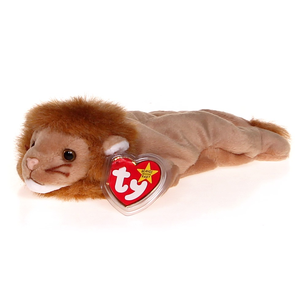 84796a476cc Ty TY Beanie Baby - ROARY the Lion at up to 95% Off - Swap