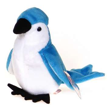 TY Beanie Baby - ROCKET the BlueJay Bird for Sale on Swap.com