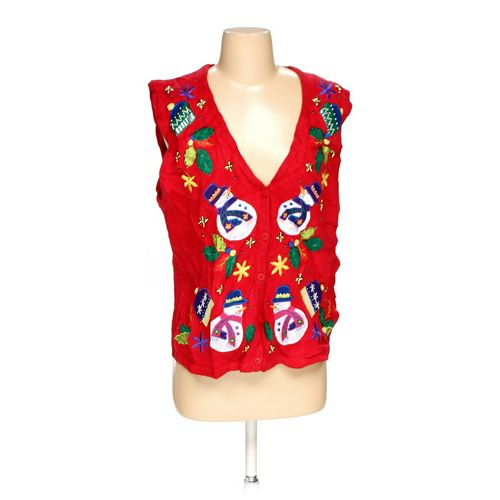 Bobbie Brooks Ugly Holiday Vest in size M at up to 95% Off - Swap.com