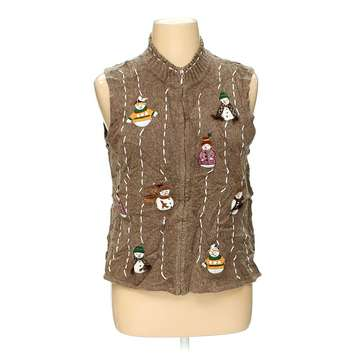 Ugly Holiday Vest for Sale on Swap.com