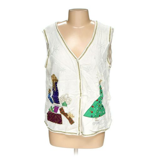 Ugly Holiday Vest in size L at up to 95% Off - Swap.com