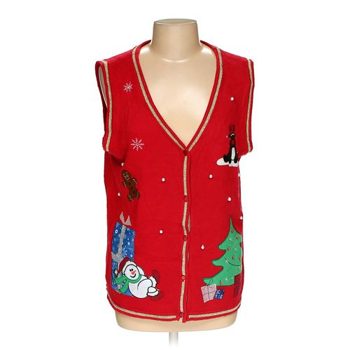White Stag Ugly Holiday Vest in size 12 at up to 95% Off - Swap.com
