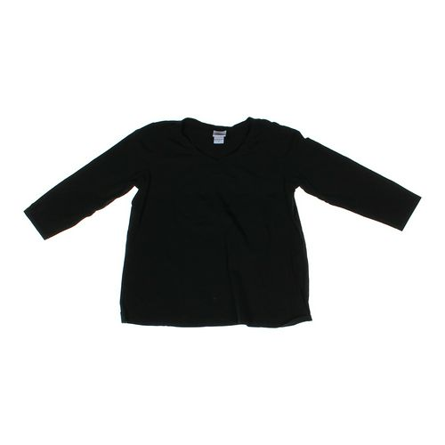 Oh Baby by Motherhood V-neck Maternity Shirt in size L (12-14) at up to 95% Off - Swap.com