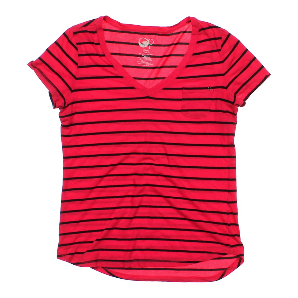 op v neck striped shirt online consignment