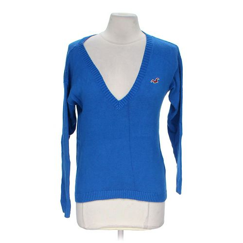 Hollister V-neck Sweater in size M at up to 95% Off - Swap.com