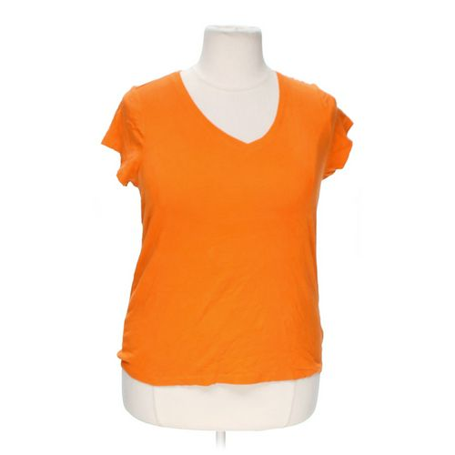 JCPenney V-neck T-shirt in size 1X at up to 95% Off - Swap.com