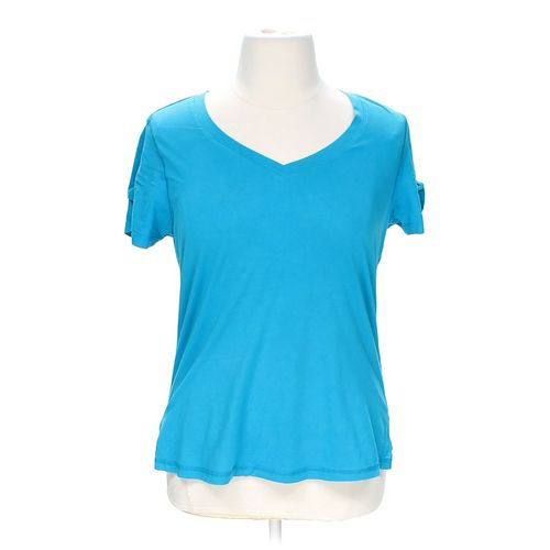 Extra Touch V-Neck Tee in size 1X at up to 95% Off - Swap.com