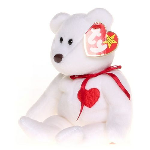 Ty Valentino the Bear Beanie Baby at up to 95% Off - Swap.com