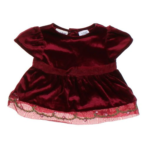 Blueberi Boulevard Velour Dress in size 6 mo at up to 95% Off - Swap.com