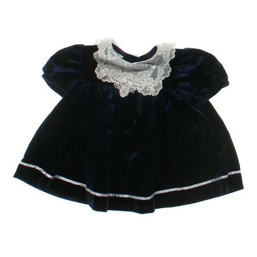 Bonnie Baby Velour Dress in size 18 mo at up to 95% Off - Swap.com