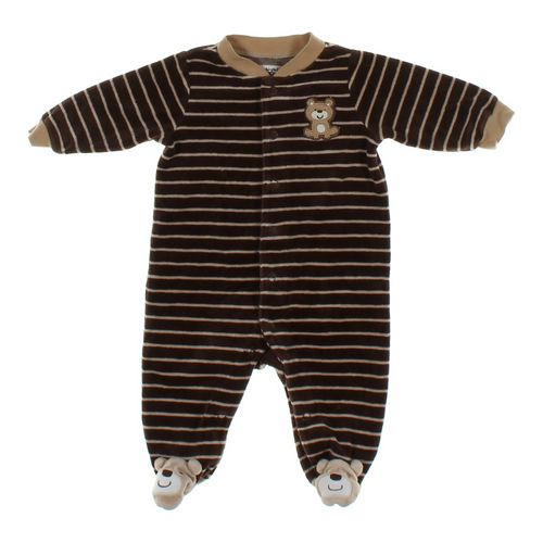 Carter's Velour Footed Pajamas in size 3 mo at up to 95% Off - Swap.com