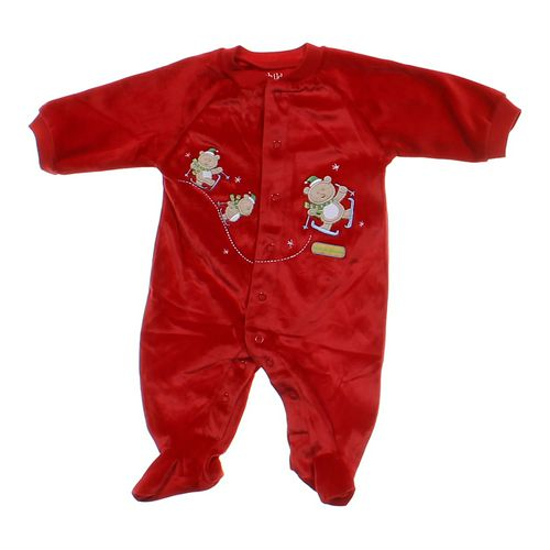 Child of Mine Velour Footed Pajamas in size NB at up to 95% Off - Swap.com