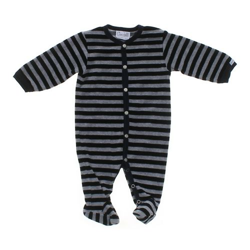 Coccoil Velour Footed Pajamas in size 3 mo at up to 95% Off - Swap.com