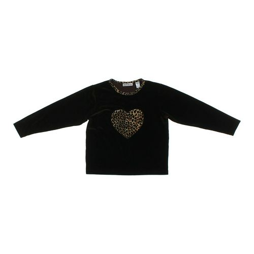 Christie Brooks Velour Heart Shirt in size 14 at up to 95% Off - Swap.com