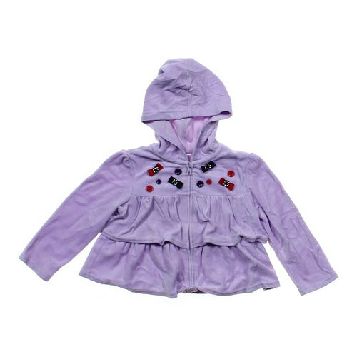 Gymboree Velour Hoodie in size 4/4T at up to 95% Off - Swap.com