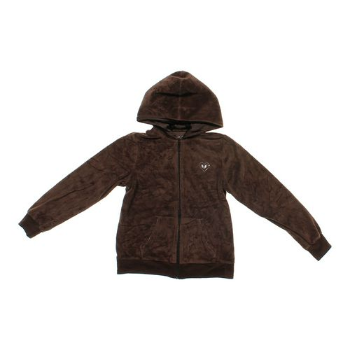Total Girl Velour Hoodie in size 14 at up to 95% Off - Swap.com