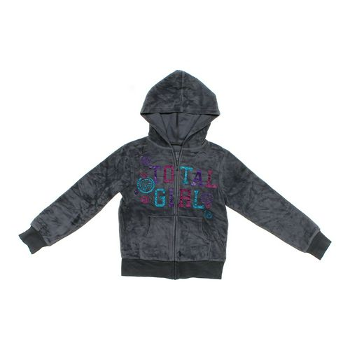 Total Girl Velour Hoodie in size 7 at up to 95% Off - Swap.com
