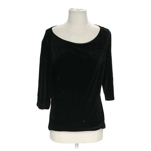 Concert Black Velour Shirt in size 10 at up to 95% Off - Swap.com