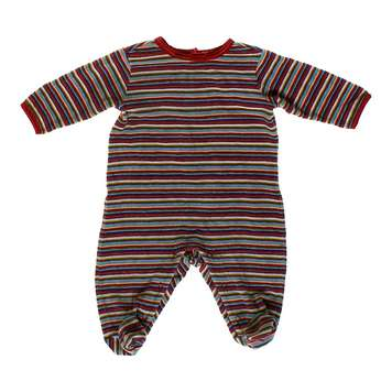 Velour Striped Footed Pajamas for Sale on Swap.com