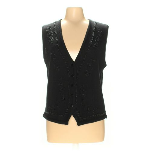 Alfred Dunner Vest in size M at up to 95% Off - Swap.com