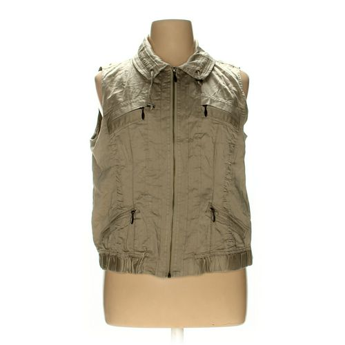 Christopher & Banks Vest in size XL at up to 95% Off - Swap.com
