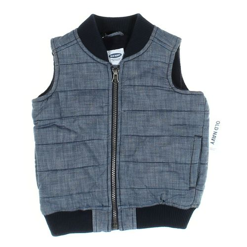 Old Navy Vest in size 3/3T at up to 95% Off - Swap.com