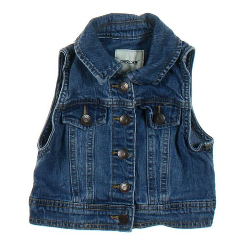 Cherokee Vest in size 4/4T at up to 95% Off - Swap.com