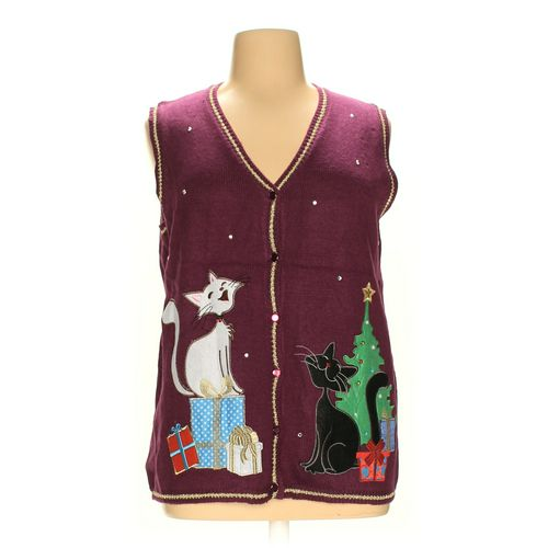 Holiday Time Vest in size 1X at up to 95% Off - Swap.com