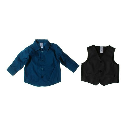 GEORGE Vest & Shirt Set in size 3 mo at up to 95% Off - Swap.com